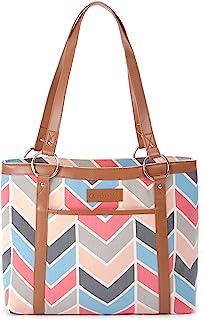 Women Tote Bag Notebook Shoulder Bag Lightweight Polyester Business Work Office Briefcase Christmas Little Aniaml