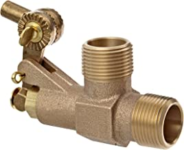 Robert Manufacturing R400 Series Bob Red Brass Float Valve, 3/8