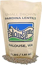 Small Brown Lentils • Pardina or Spanish Brown • 100% Desiccant Free • 4 lbs • Non-GMO Project Verified • 100% Non-Irradia...
