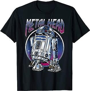R2D2 Metal Head Vintage Graphic T-Shirt Z2