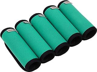 Gowraps Neoprene Luggage Handle Wraps For Traveling Bright Color Luggage Tags Handle Wraps Handle Covers (Turquoise)
