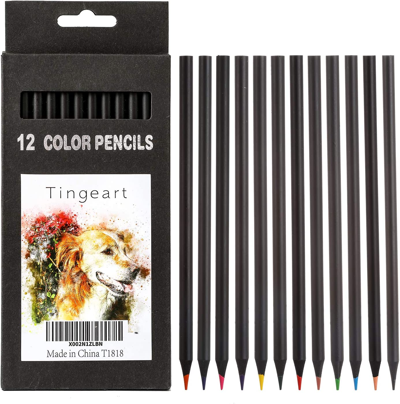 Free shipping anywhere in the nation Colored Pencils 12 Count Set Perfect Ki 55% OFF Adults and Coloring for