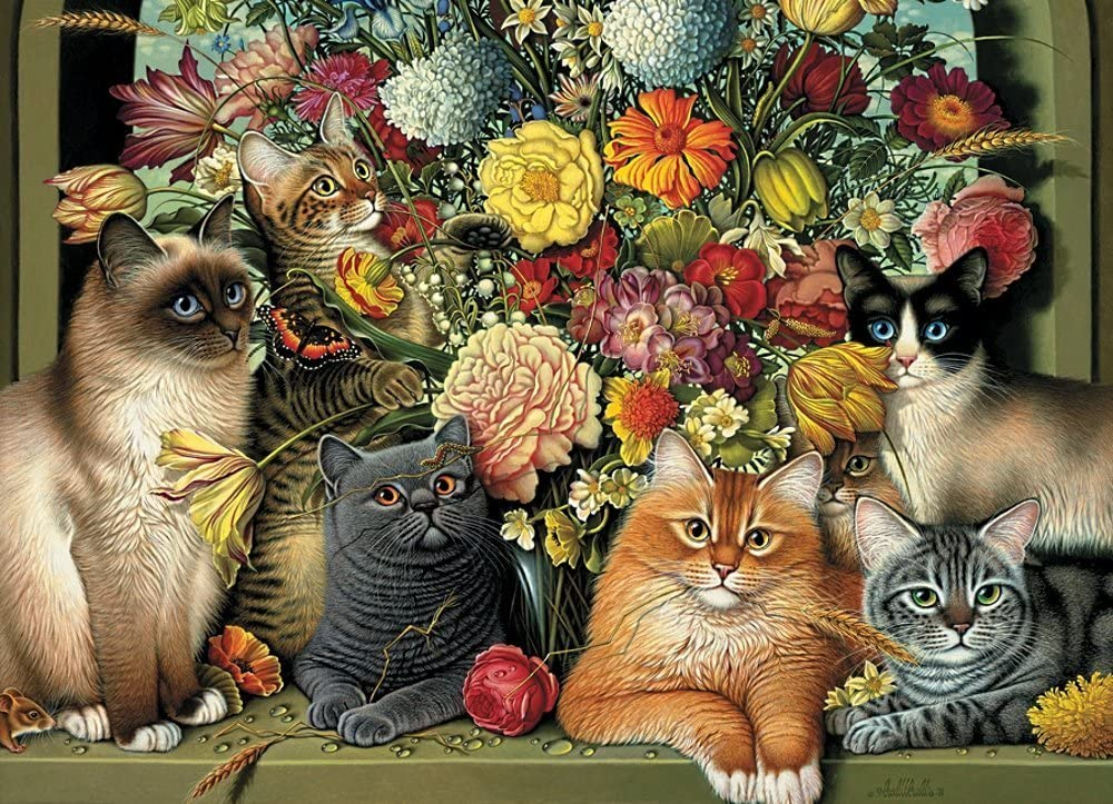 Cobble Hill Boucat Max 44% OFF Jigsaw Ranking TOP9 Piece Puzzle 1000