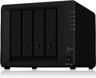 Synology DiskStation DS418play Ethernet Compacto Negro NAS - Unidad Raid (40 TB, Unidad de Disco Duro, Unidad de Disco Duro, SSD, Serial ATA III, 10000 GB, 2.5/3.5