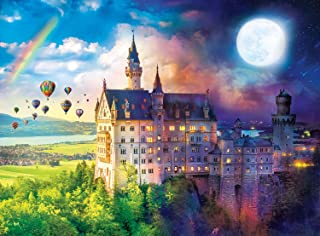 Buffalo Games - Night & Day Collection - Neuschwanstein Dreams - 1000 Piece Jigsaw Puzzle
