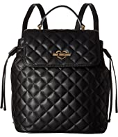 LOVE Moschino - Quilted Flap Backpack