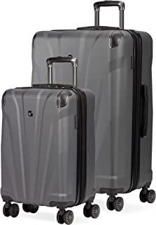 7330 Hardside Spinner Luggage (2-piece, Dark Gray)