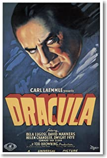 Dracula - starring Bela Lugosi - Movie Poster 1931 - NEW Vintage Movie Poster
