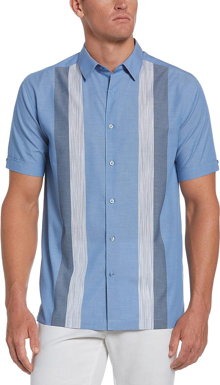 Cubavera Men's Standard Ecoselect Vertical Stripe Shirt