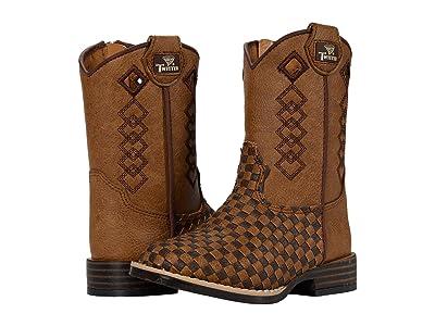 M&F Western Kids Logan (Toddler) (Tan/Brown) Boys Shoes