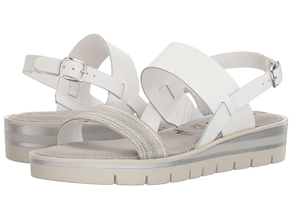 Tamaris Leni 1-1-28607-20 (White Leather Combo) Women