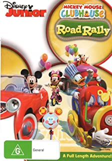 Mickey Mouse Clubhouse - Road Rally (DVD)