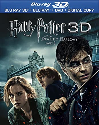 Harry Potter and the Deathly Hallows, Part 1 3D (Blu-ray 3D Combo Pack with Blu-ray 3D, Blu-ray, DVD & Digital Copy) [Blu-ray 3D]