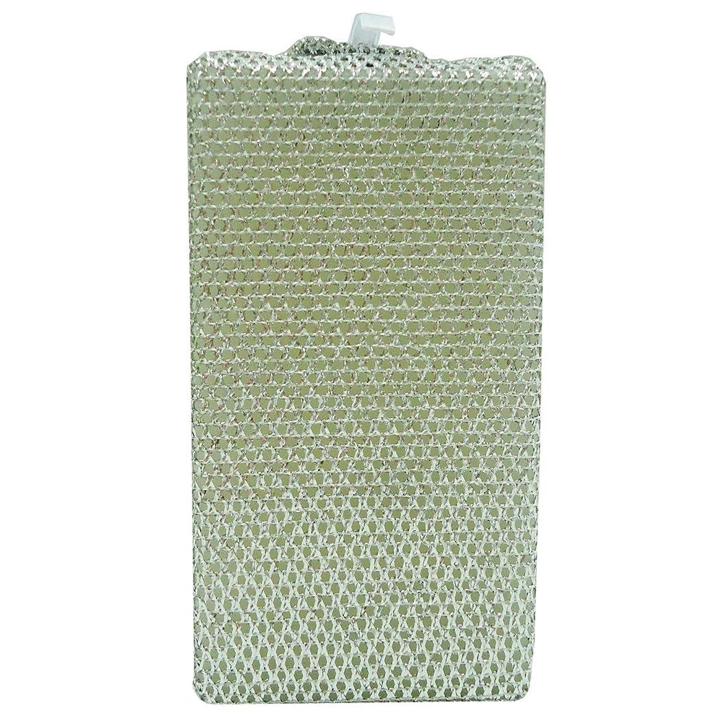 アナニバー無効にする肺オーエ CKアルミネットバススポンジ アルミニウム 約15.5×8.5×5cm