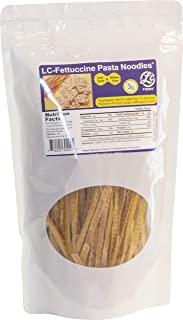 Low Carb Fettucine Pasta Noodles - LC Foods - All Natural - No Sugar - Diabetic Friendly