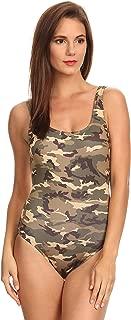 Women's 1-Piece Camo Bikini Camouflage Swimwear Made in The USA