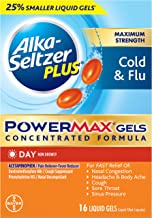 Alka Seltzer Plus Power Gels Day, 16 Count