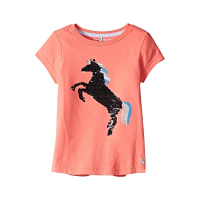 Joules Kids Astro T-Shirt (Toddler/Little Kids/Big Kids) (Poppy Unicorn) Girl