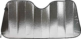 エマーソン スジガネ入りサンシェードMサイズ 遮光 断熱 吸盤不使用 簡単着脱 丈夫で長持ち 600x1300mm EMERSON EM-253