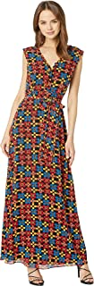 Juicy Couture Women's Blocked Floral Maxi Dress