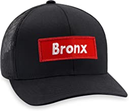Bronx Hat - NY Trucker Hat Baseball Cap Snapback Golf Hat (Black)