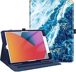 Fintie Case for New iPad 8th Gen (2020) / 7th Generation (2019) 10.2 Inch - [Corner Protection] Multi-Angle Viewing Folio ...