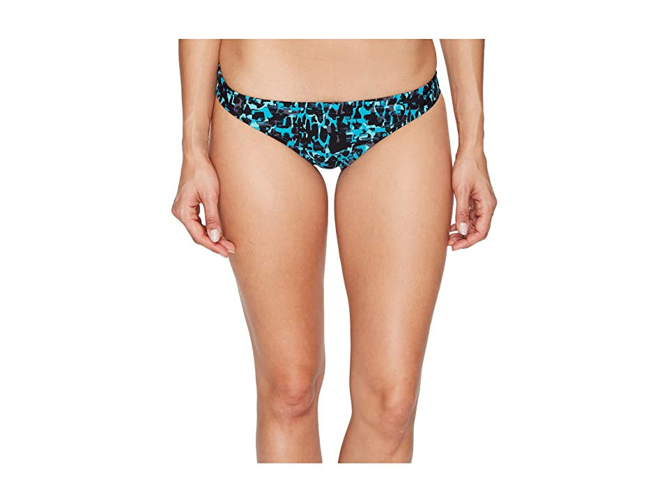 Speedo Print Bikini Bottom (Mystic Teal) Women