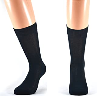 Fontana Calze, 6 paia di calze UOMO corte in 100% Cotone Filo di Scozia.