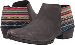 Brown Sanded Leather Vamp/Serape