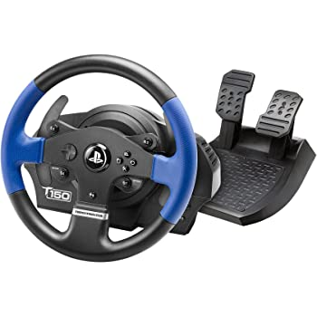 Thrustmaster T150 RS (Wheel incl. 2-Pedalset, Force Feedback, 270° - 1080°, PS4 / PS3 / PC)
