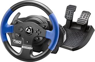 Thrustmaster T150 RS (Volante inkl. 2-Pedali, Force Feedback, 270° - 1080°, PS4 / PS3 / PC). Funziona con giochi PS5