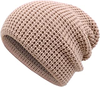 Simplicity Men/Women's Thick Stretchy Knit Slouchy Skull Cap Beanie