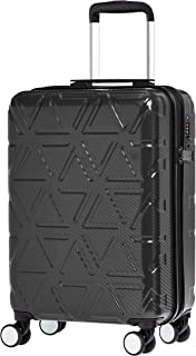 AmazonBasics Pyramid Luggage Spinner Suitcase with Wheels and TSA Lock, 20-Inch Carry-On
