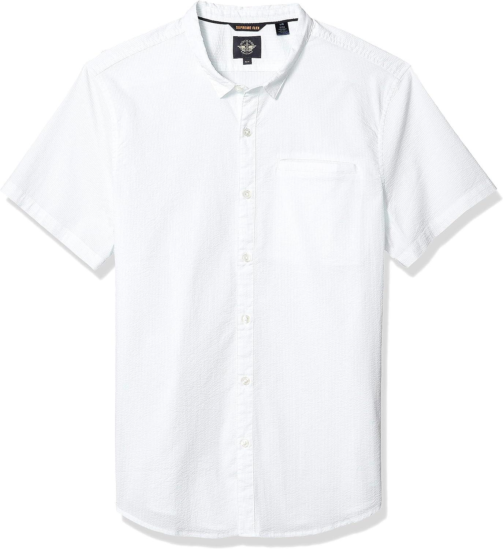 Dockers Men's Short Sleeve Button Down Shirt