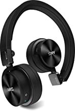 AKG Y45BT Black Mini On-Ear Wireless Bluetooth Headphone with NFC and By-Pass Cable, Black