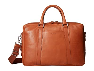 Shinola Detroit Slim Brief (Bourbon) Briefcase Bags