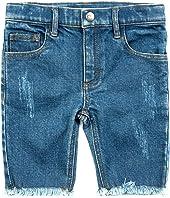 Adaptive Rainbow Jean Shorts (Little Kids/Big Kids)