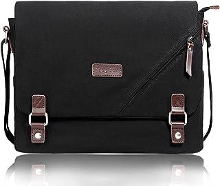 ibagbar Laptop Messenger Bag Canvas Shoulder Bag 14