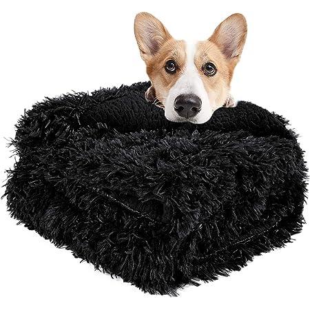 Cozy fleece dog blanket