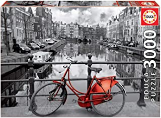 Educa - 16018 - Puzzle Classique - Amsterdam - 3000 Pièces