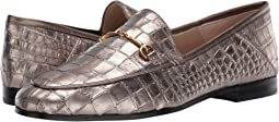 Pyrite Mara Metallic Croco Leather