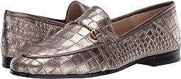 Pyrite Mara Metallic Croco Leather