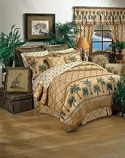 Kona Tropical Bedding Queen 13 Pc Bedding Set (Comforter, 1 Flat Sheet, 1 Fitted Sheet, 2 Pillow Cases , 2 Shams , 1 Bedskirt, 1 Valance/Drape Set) - SAVE BIG ON BUNDLING!
