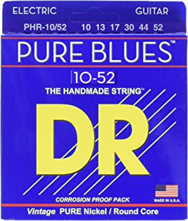 DR Strings PHR-10/52 Pure Blues Electric Guitar 10/52