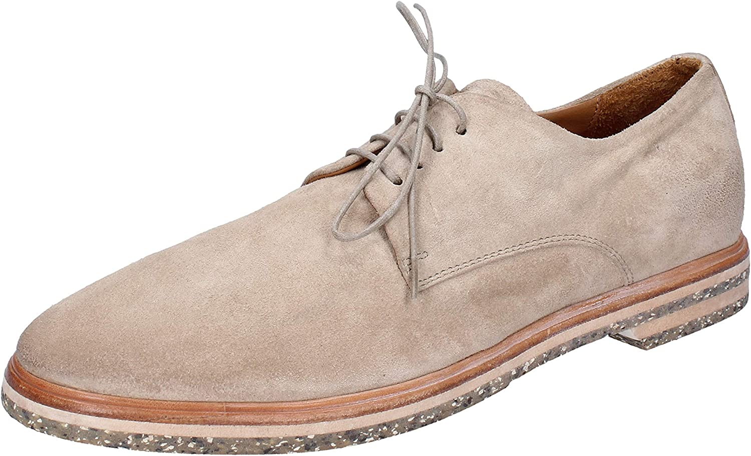 MOMA Oxfords-Shoes Mens Suede Beige 9 US