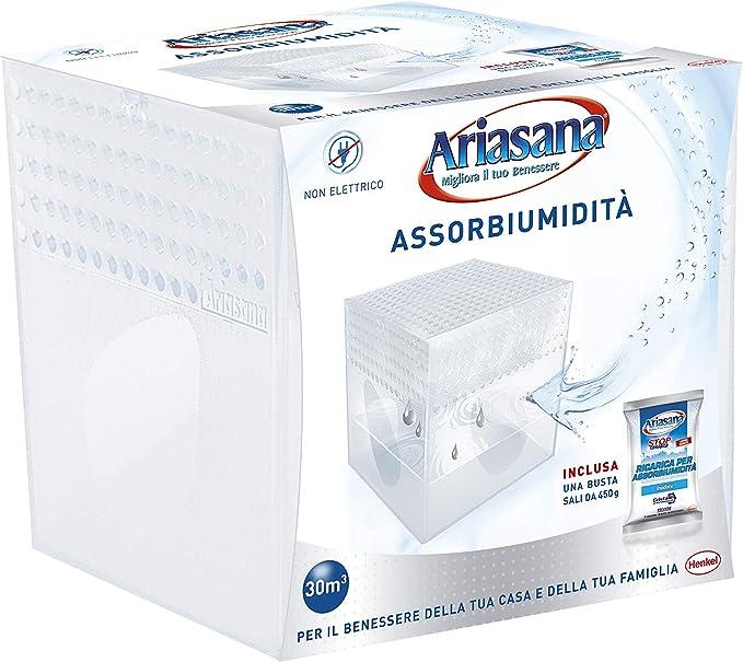 449 opinioni per Ariasana 1939850 Kit Mini Deumidificatore, Assorbi umidità fino a 30 m³,