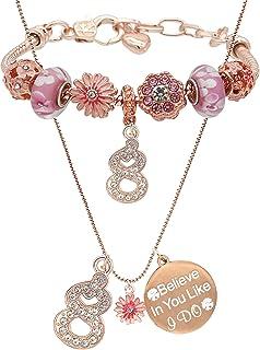 8 Birthday,Birthday 8th,8 Year Old Girls,Jewelry for 8 Year Old,Birthday 8,8 Year Old Girls Jewelry,8 Year Old Girl Birthd...