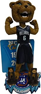 Forever Collectibles Villanova Wildcats Multiple Men's College Basketball National Championships Bobblehead Bobble Head - Individually Numbered to Only 216