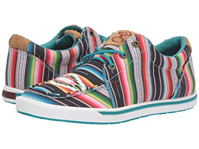 Twisted X WHYC008 (Black/Serape) Women