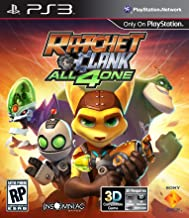 Sony Ratchet and Clank All 4 One PlayStation 3 vídeo - Juego (PlayStation 3, Aventura, RP (Clasificación pendiente))